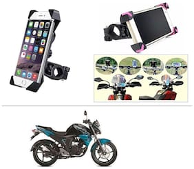 AutoStark Bike Holder 360 Degree Rotating Bicycle Holder Motorcycle cell phone Cradle Mount Holder for For Yamaha FZ-S