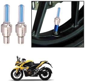 AutoStark Bike Tyre LED Light with Motion Sensor - Blue Color (Set of 2) Bajaj Pulsar RS 200