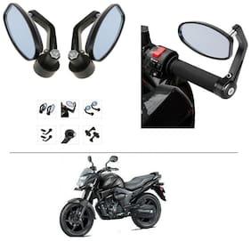 AutoStark Bike Rear View Mirror Set of 2 Black - Honda CB Trigger