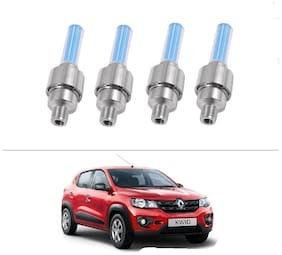 AutoStark Blue Car Tyre Led Light With Motion Sensor Set of 4 For Renault kwid