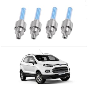 AutoStark Blue Car Tyre Led Light With Motion Sensor Set of 4 For Ford Ecosports