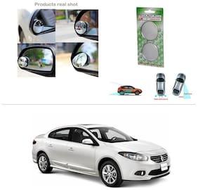 AutoStark Brand New Round Shaped Rear Side Blind Spot Mirror-Renault Fluence