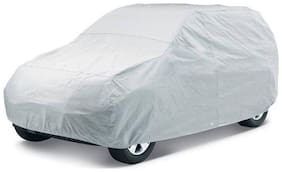 AutoStark Car Cover For Universal For Car (Without Mirror Pockets) (Silver)