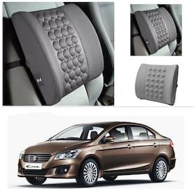 AutoStark Car Seat Vibrating Massage Cushion Grey-Maruti Suzuki Ciaz