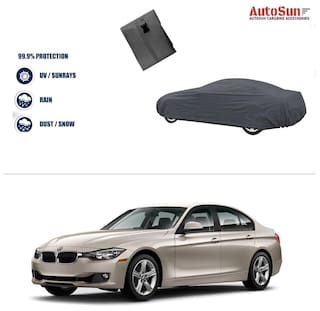 Buy Autosun Double Stiching Car Body Cover Grey For Bmw 3 Series