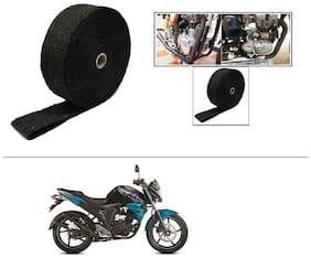 AutoStark Exhaust Wrap Silencer Wrap Black 5M  For Yamaha FZ-S