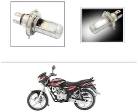 AutoStark H4 Bulb Double Side High Power low and High Beam For Bajaj Discover 125 DTS-i