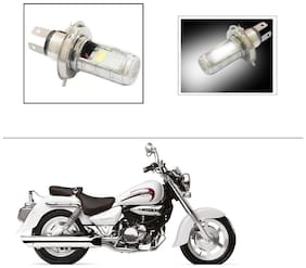 AutoStark H4 Bulb Double Side High Power low and High Beam For Hyosung Aquila 250