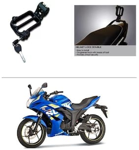 AutoStark Helmet Security Guard / Lock for Pipe Fitment For  Suzuki Gixxer SF