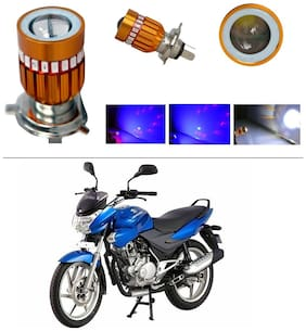 AutoStark High Quality H4 Bike Led Head Light Multi For Bajaj Discover 100 DTS-i