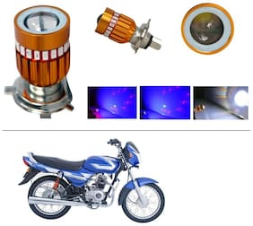 AutoStark High Quality H4 Bike Led Head Light Multi For Bajaj CT100