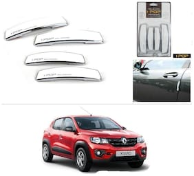 AutoStark I-POP Shine White Car Door Guard Scratch Protector for Renault kwid