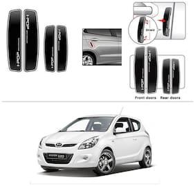 AutoStark I-POP Shine Black Car Door Guard Scratch Protector for Hyundai I20