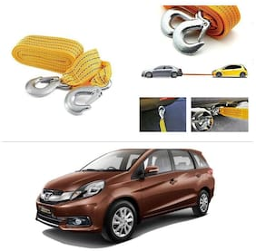 AutoStark Long & Strong Heavy Duty Car Tow Cable 3 Ton rescue rope for Honda Mobilo