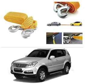 AutoStark Long & Strong Heavy Duty Car Tow Cable 3 Ton rescue rope for Mahindra Rexton