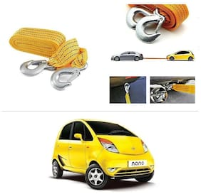AutoStark Long & Strong Heavy Duty Car Tow Cable 3 Ton rescue rope for Tata Nano