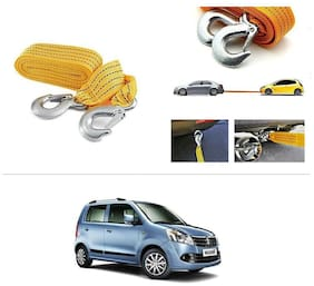AutoStark Long & Strong Heavy Duty Car Tow Cable 3 Ton rescue rope for Maruti Suzuki Wagon R 1.0