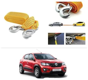 AutoStark Long & Strong Heavy Duty Car Tow Cable 3 Ton rescue rope for Renault kwid