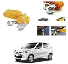 AutoStark Long & Strong Heavy Duty Car Tow Cable 3 Ton rescue rope for Maruti Suzuki Alto-800