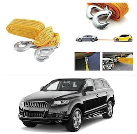 AutoStark Long & Strong Heavy Duty Car Tow Cable 3 Ton rescue rope for Audi Q7