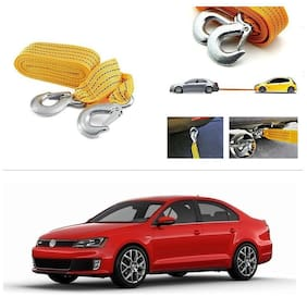 AutoStark Long & Strong Heavy Duty Car Tow Cable 3 Ton rescue rope for Volkswagen Jetta 2015