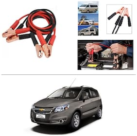 AutoStark Premium Quality Car 500A Heavy Duty Copper Core Tangle Booster 7.5 Ft Battery Jumper Cable for Chevrolet Sail Hatchback