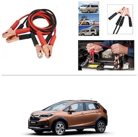 AutoStark Premium Quality Car 500A Heavy Duty Copper Core Tangle Booster 7.5 Ft Battery Jumper Cable for Honda WRV
