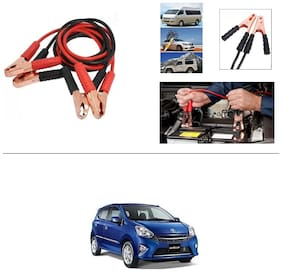 AutoStark Premium Quality Car 500A Heavy Duty Copper Core Tangle Booster 7.5 Ft Battery Jumper Cable for Toyota Wigo
