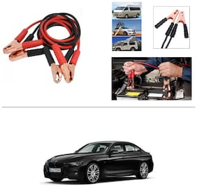 AutoStark Premium Quality Car 500A Heavy Duty Copper Core Tangle Booster 7.5 Ft Battery Jumper Cable for BMW 3 Series