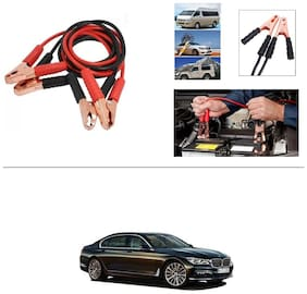AutoStark Premium Quality Car 500A Heavy Duty Copper Core Tangle Booster 7.5 Ft Battery Jumper Cable for BMW 720D