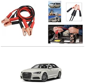 AutoStark Premium Quality Car 500Amp Heavy Duty Copper Core Tangle Booster 7.5 Ft Battery Jumper Cable for Audi A6