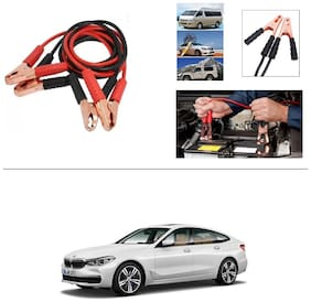 AutoStark Premium Quality Car 500A Heavy Duty Copper Core Tangle Booster 7.5 Ft Battery Jumper Cable for BMW 6 Series
