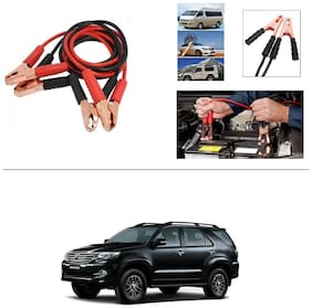 AutoStark Premium Quality Car 500Amp Heavy Duty Copper Core Tangle Booster 7.5 Ft Battery Jumper Cable for Toyota Fortuner Old