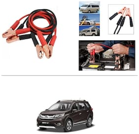 AutoStark Premium Quality Car 500A Heavy Duty Copper Core Tangle Booster 7.5 Ft Battery Jumper Cable for Honda BR-V
