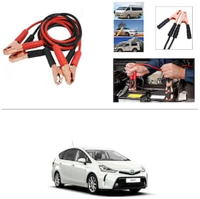 AutoStark Premium Quality Car 500A Heavy Duty Copper Core Tangle Booster 7.5 Ft Battery Jumper Cable for Toyota Prius