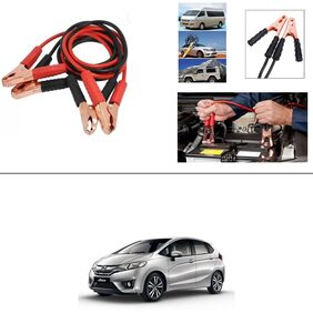 AutoStark Premium Quality Car 500Amp Heavy Duty Copper Core Tangle Booster 7.5 Ft Battery Jumper Cable for Honda Jazz