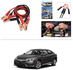 AutoStark Premium Quality Car 500A Heavy Duty Copper Core Tangle Booster 7.5 Ft Battery Jumper Cable for Honda Civic