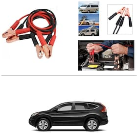 AutoStark Premium Quality Car 500A Heavy Duty Copper Core Tangle Booster 7.5 Ft Battery Jumper Cable for Honda CR-V