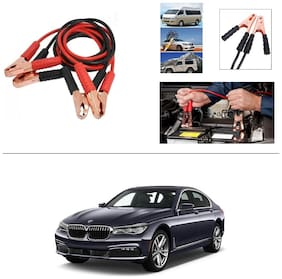 AutoStark Premium Quality Car 500A Heavy Duty Copper Core Tangle Booster 7.5 Ft Battery Jumper Cable for BMW 7 Series