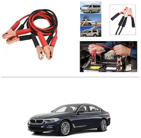 AutoStark Premium Quality Car 500A Heavy Duty Copper Core Tangle Booster 7.5 Ft Battery Jumper Cable for BMW 5 Series