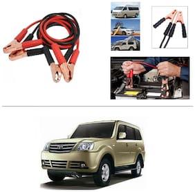 AutoStark Premium Quality Car 500A Heavy Duty Copper Core Tangle Booster 7.5 Ft Battery Jumper Cable for Tata Sumo Grande MK II