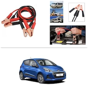 AutoStark Premium Quality Car 500A Heavy Duty Copper Core Tangle Booster 7.5 Ft Battery Jumper Cable for Hyundai i10