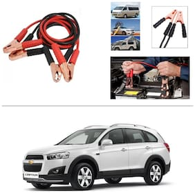AutoStark Premium Quality Car 500Amp Heavy Duty Copper Core Tangle Booster 7.5 Ft Battery Jumper Cable for Chevrolet Captiva