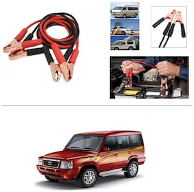 AutoStark Premium Quality Car 500A Heavy Duty Copper Core Tangle Booster 7.5 Ft Battery Jumper Cable for Tata Sumo