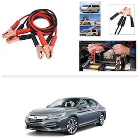 AutoStark Premium Quality Car 500A Heavy Duty Copper Core Tangle Booster 7.5 Ft Battery Jumper Cable for Honda Accord