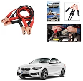 AutoStark Premium Quality Car 500Amp Heavy Duty Copper Core Tangle Booster 7.5 Ft Battery Jumper Cable for BMW 2 Series