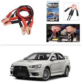 AutoStark Premium Quality Car 500A Heavy Duty Copper Core Tangle Booster 7.5 Ft Battery Jumper Cable for Mitsubishi Lancer Evolution
