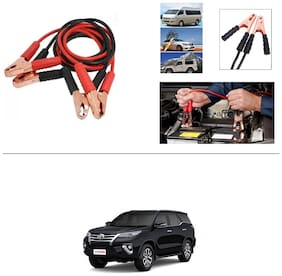 AutoStark Premium Quality Car 500A Heavy Duty Copper Core Tangle Booster 7.5 Ft Battery Jumper Cable for Toyota New Fortuner