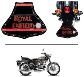 AutoStark Rear Customized Royal Enfield Mudflaps -  Royal Enfield Twin spark