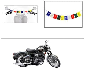 AutoStark Small Size Motorycle Ladakh Prayer Flags Tibet Prayer Flags For Royal Enfield Classic 500